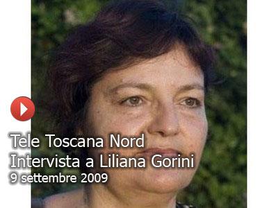 Tele Toscana Nord, 2009, intervista a Liliana Gorini