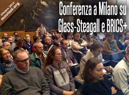 Conferenza a Milano su Glass-Steagall e BRICS+