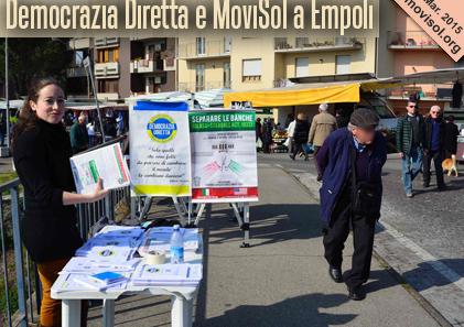 Democrazia Diretta e MoviSol a Empoli