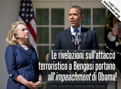 Le rivelazioni sull'attacco terroristico a Bengasi portano all'impeachment di Obama!