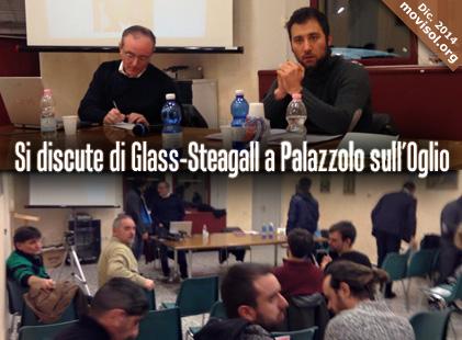 Si discute di Glass-Steagall a Palazzolo sull'Oglio