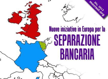 Nuove iniziative in Europa per la separazione bancaria