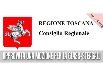 Il Consiglio Regionale della Toscana approva una mozione per la Glass-Steagall