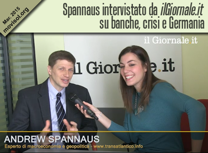 Spannaus intervistato da ilGiornale.it su banche, crisi e Germania