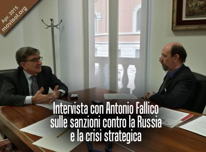 Intervista con Antonio Fallico sulle sanzioni contro la Russia e la crisi strategica