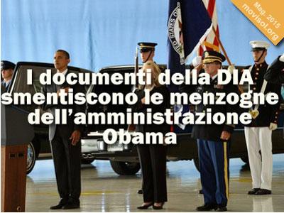 I documenti della DIA smentiscono le menzogne dell'amministrazione Obama sull'attentato a Bengasi