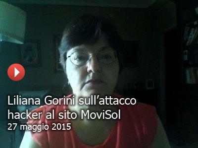 Gorini sull'attacco hacker al sito MoviSol (video)