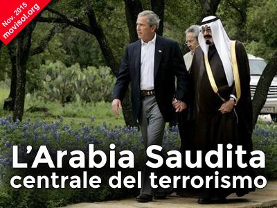 L'Arabia Saudita centrale del terrorismo