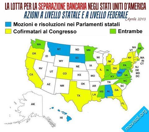 Cartina GS USA