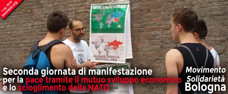 Seconda manifestazione per la pace e per l'uscita dalla NATO