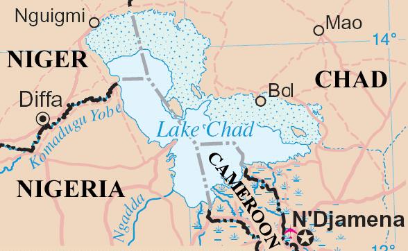 I Verdi tedeschi propongono una patacca per il Lago Ciad