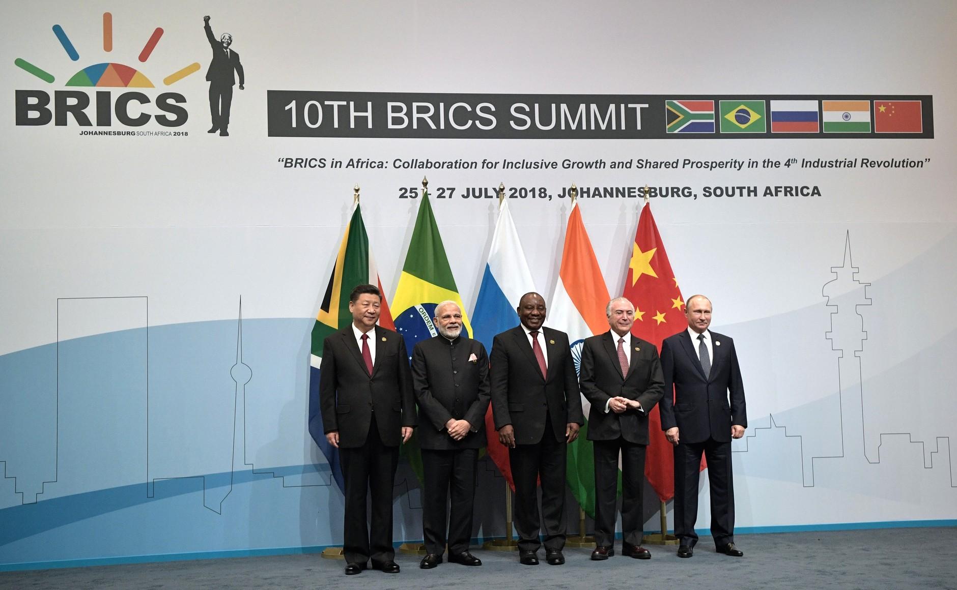 Il vertice dei BRICS dà slancio al Nuovo Paradigma