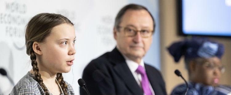 Del plagio di Greta Thunberg sul clima: come andare spensierati incontro al collasso finanziario
