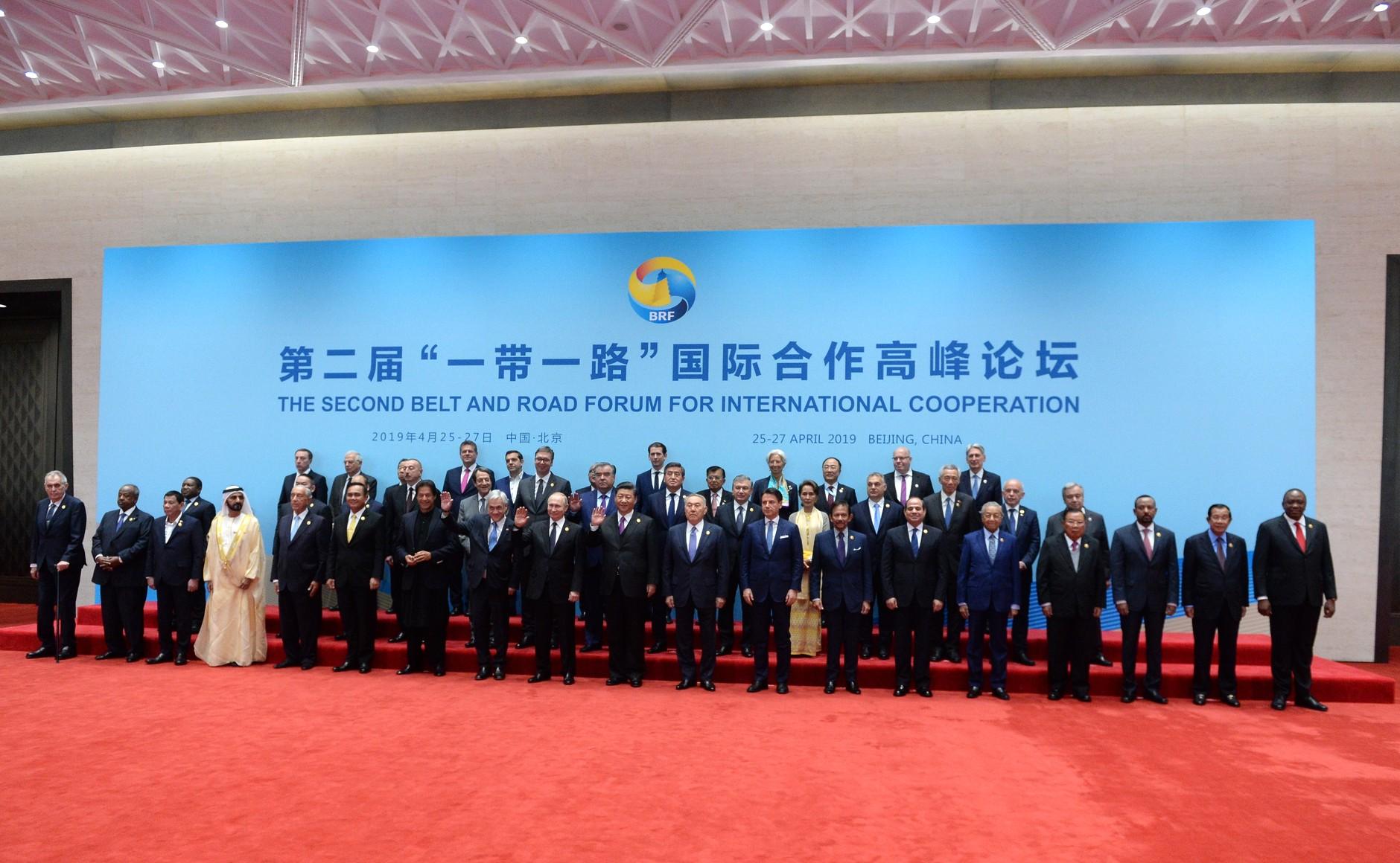Grande successo del secondo Forum Belt and Road a Pechino