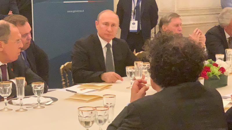 Cooperazione eurasiatica e Libia all'ordine del giorno della visita di Putin a Roma