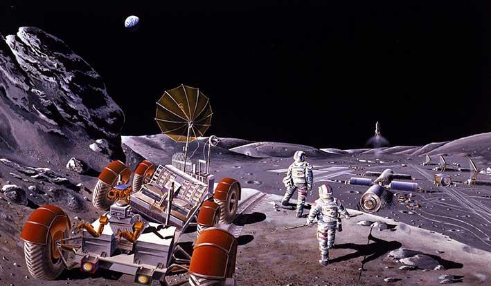 Sabato 20 luglio in streaming: 50 anni dopo la missione Apollo, il futuro dovrà determinare il presente