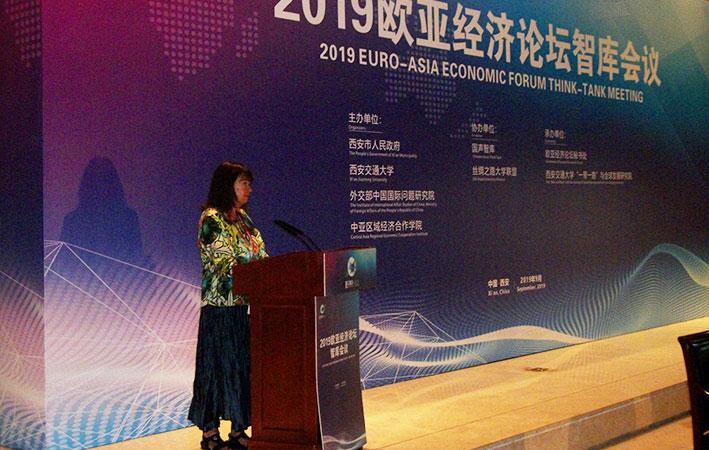 Zepp-LaRouche, Cheminade e Galloni parlano al Forum Economico Euro-Asiatico in Cina
