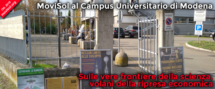 MoviSol al Campus Universitario di Modena