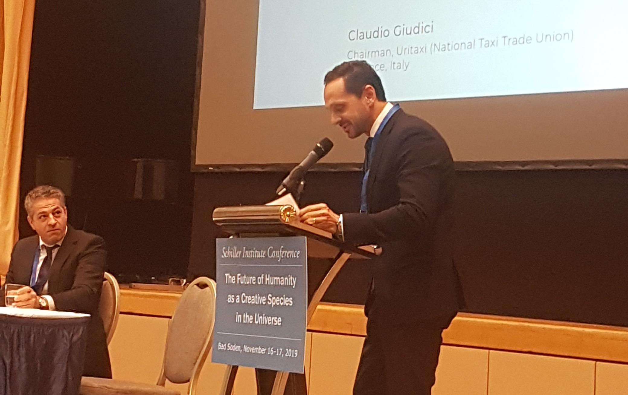 Claudio Giudici: LaRouche, un genio